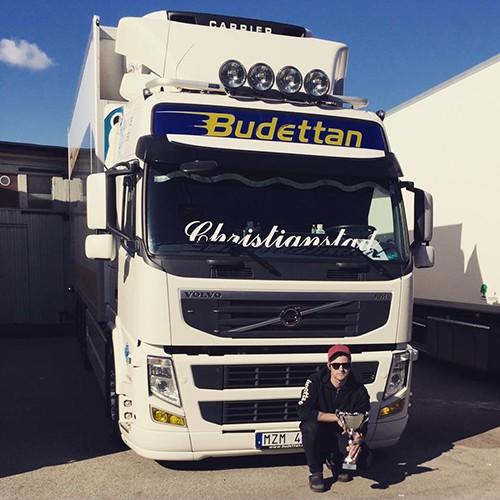 Budettans Truck vinner förstapris